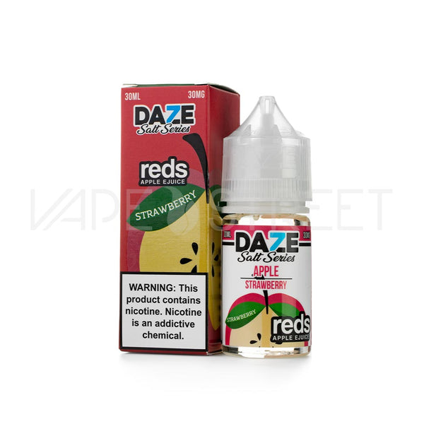 Reds Salt Series Strawberry by 7 Daze MFG