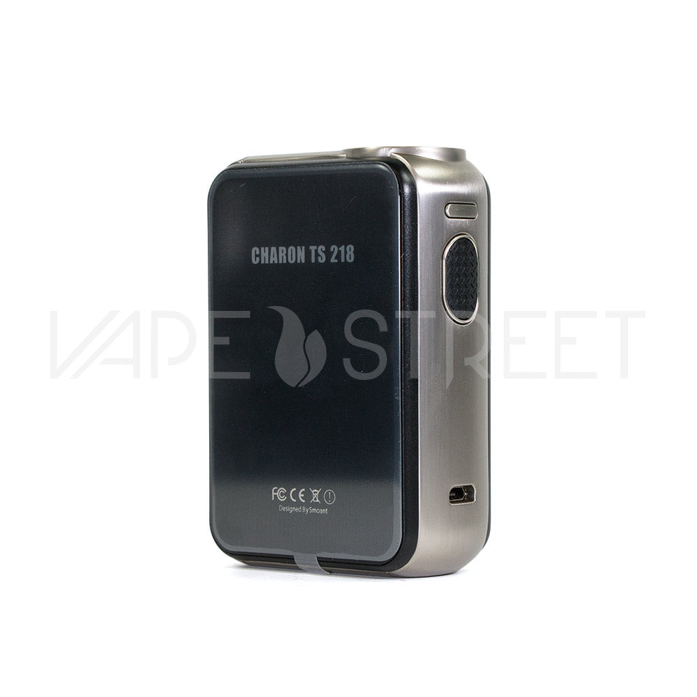 Charon TS 218W TC Touch Screen Box Mod by SMOANT Stainless Steel - Vape Street