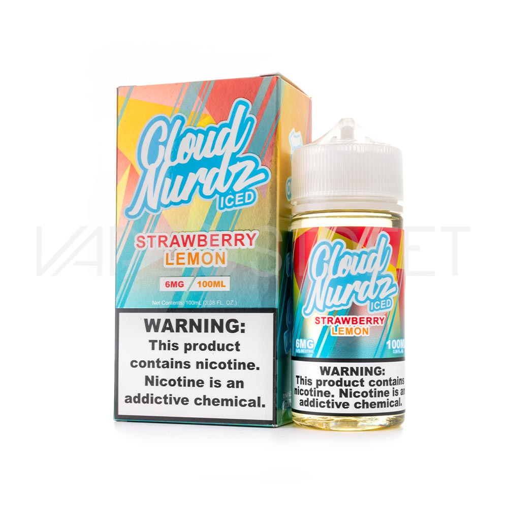 Cloud Nurdz Iced Strawberry Lemon
