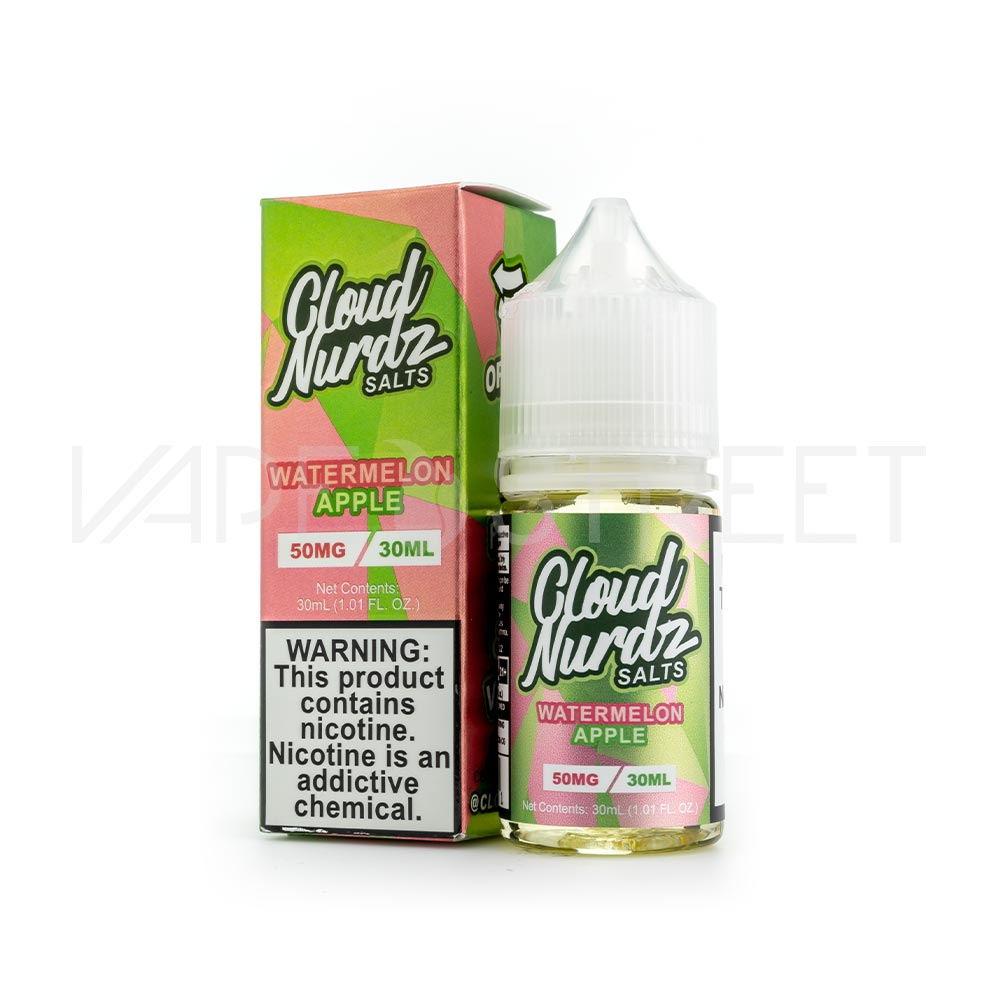 Cloud Nurdz Salts Watermelon Apple