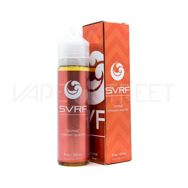 Devine Strawberry Cream Tart by SVRF 60ml - Vape Street
