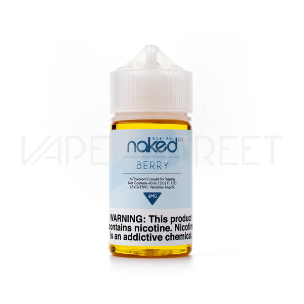 Naked 100 Menthol Berry