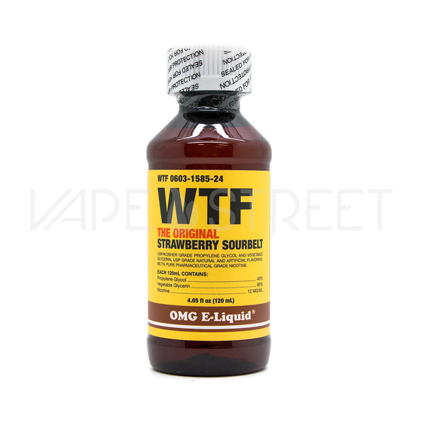 WTF BY OMG E-Liquid (120ml)
