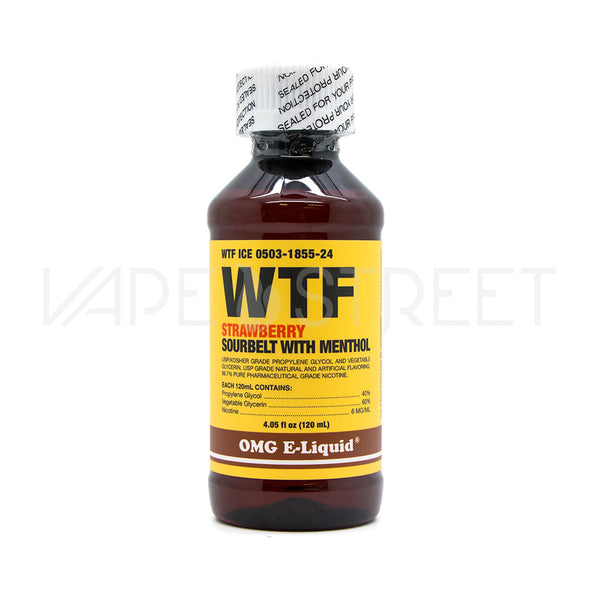 WTF ICE by OMG E-Liquid (120ml)