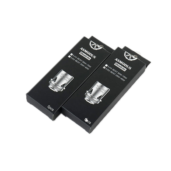 Ohmlette Sub-Ohm Tank Replacement Coils by asModus (5 Pack)