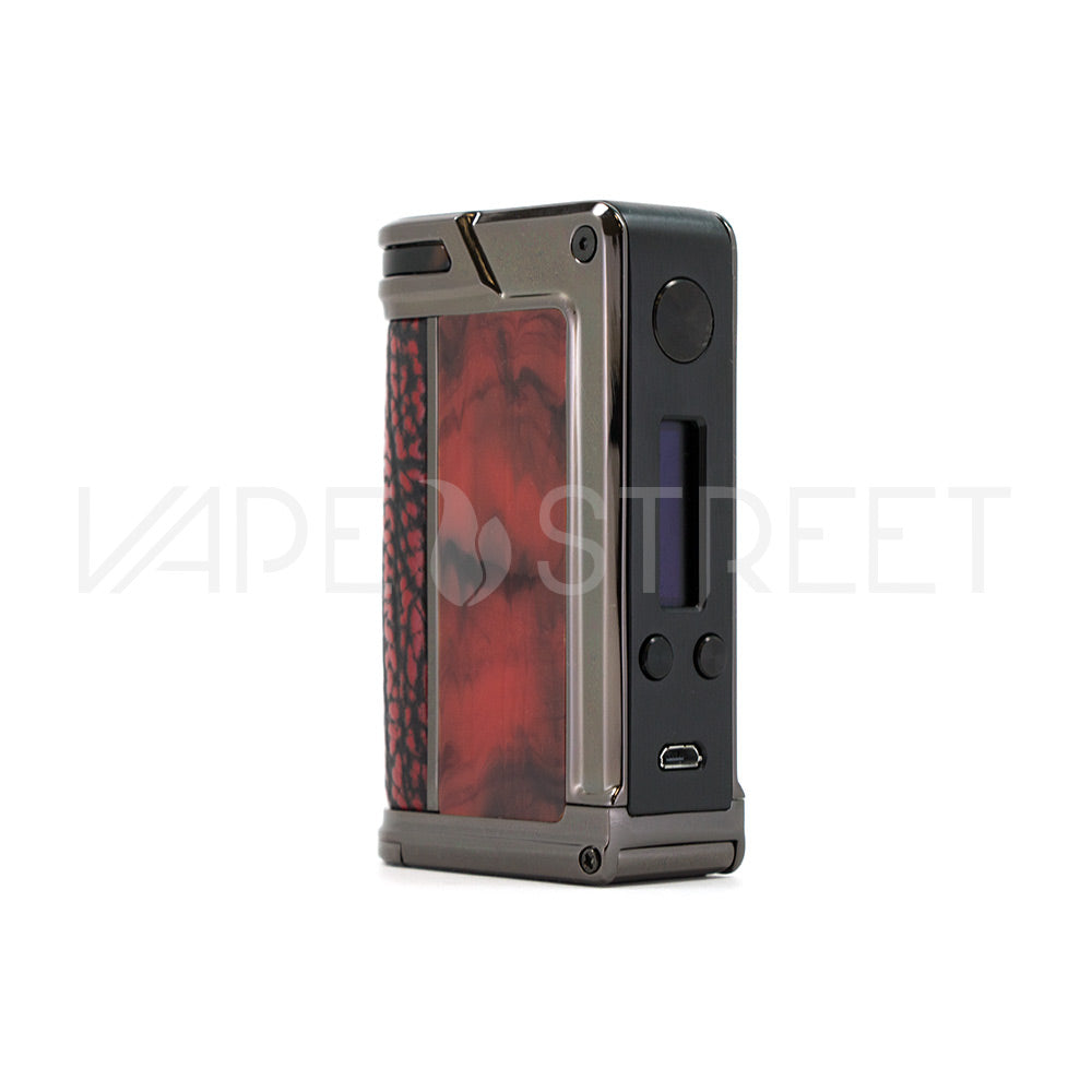 Paranormal DNA166 TC Box Mod by Lost Vape Red Croc - Vape Street
