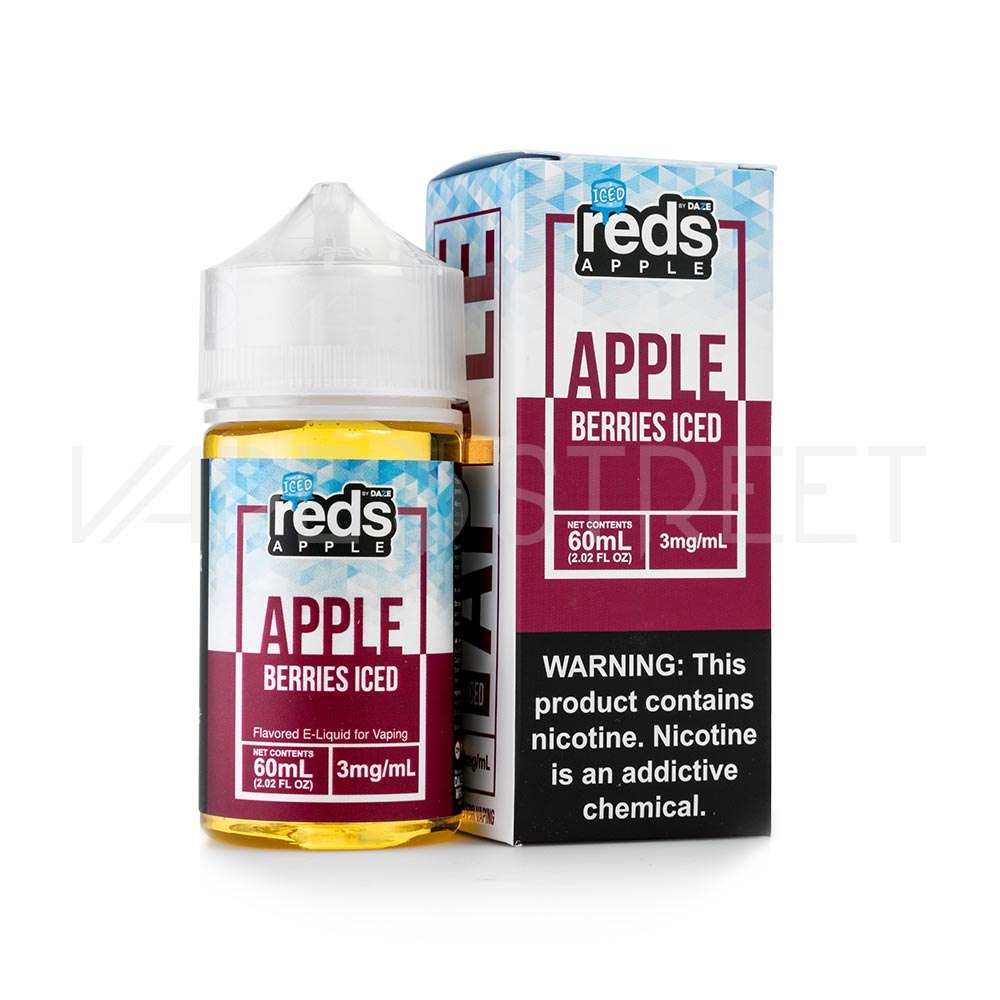 Reds Apple Ejuice Berries Iced