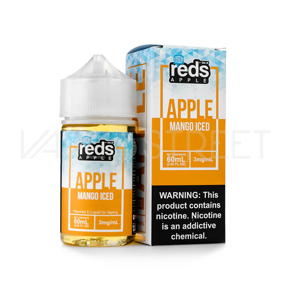 Reds Apple EJuice Mango Iced