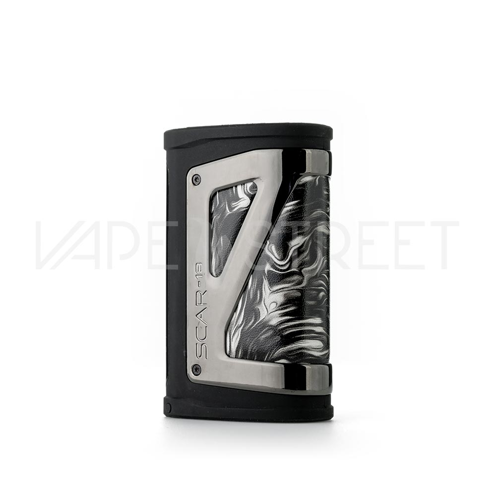 SMOK SCAR-18 230W Box Mod Fluid Black and White Back