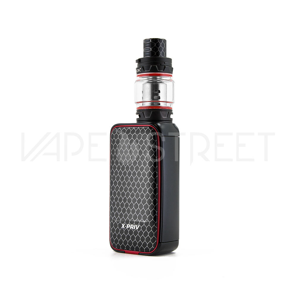 SMOK X-Priv 225W Starter Kit Black Red - Vape Street