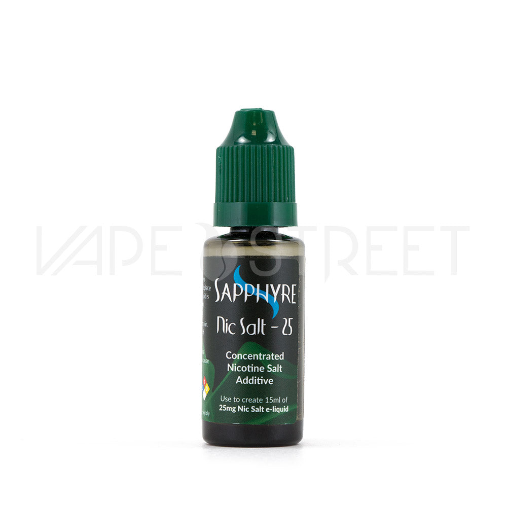 Sapphyre Concentrated Nicotine Salt Additive 25mg - Vape Street