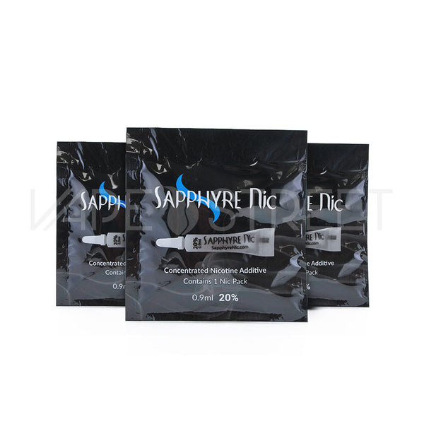Sapphyre Nic Concentrated Nicotine Additive - Vape Street