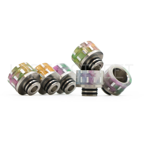 510 Silver Line Infused Resin Drip Tips