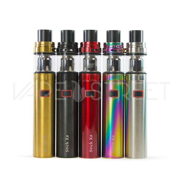 Stick X8 Starter Kit by SMOK Colors - Vape Street