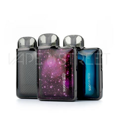 Suorin Ace Pod System Black, Starry Sky, and Prism Blue