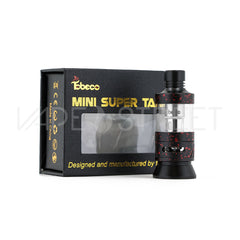 Tobeco Mini Super Tank Black / Red Splatter - Vape Street