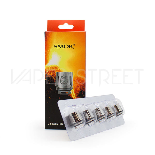 TFV8 Baby M2 Replacement Coils by SMOK (5 Pack)