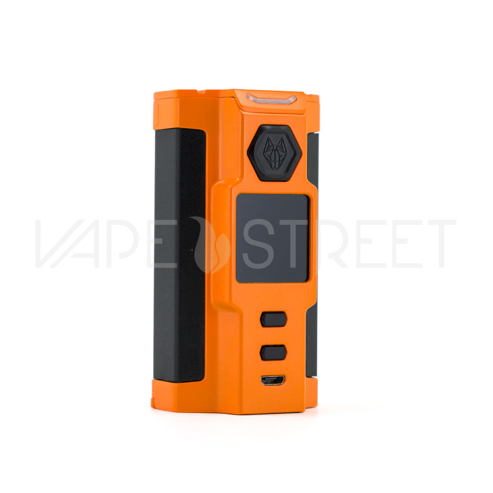 SNOWWOLF VFENG-S 230W TC Box Mod by Sigelei Orange - Vape Street