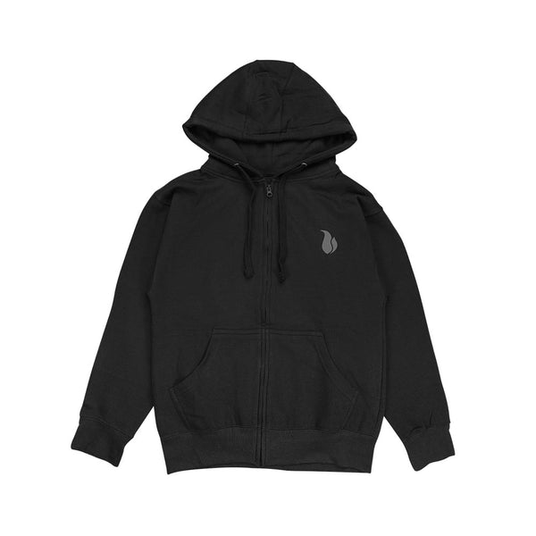 Vape Street VSOP Black Grey Zip Up Hoodie
