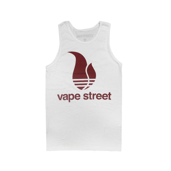 Vape Street White Tank Top
