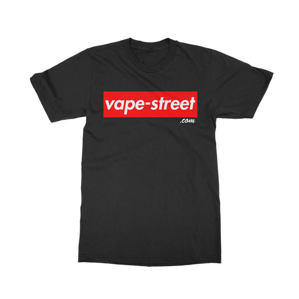 Vape Street Box Black T-Shirt