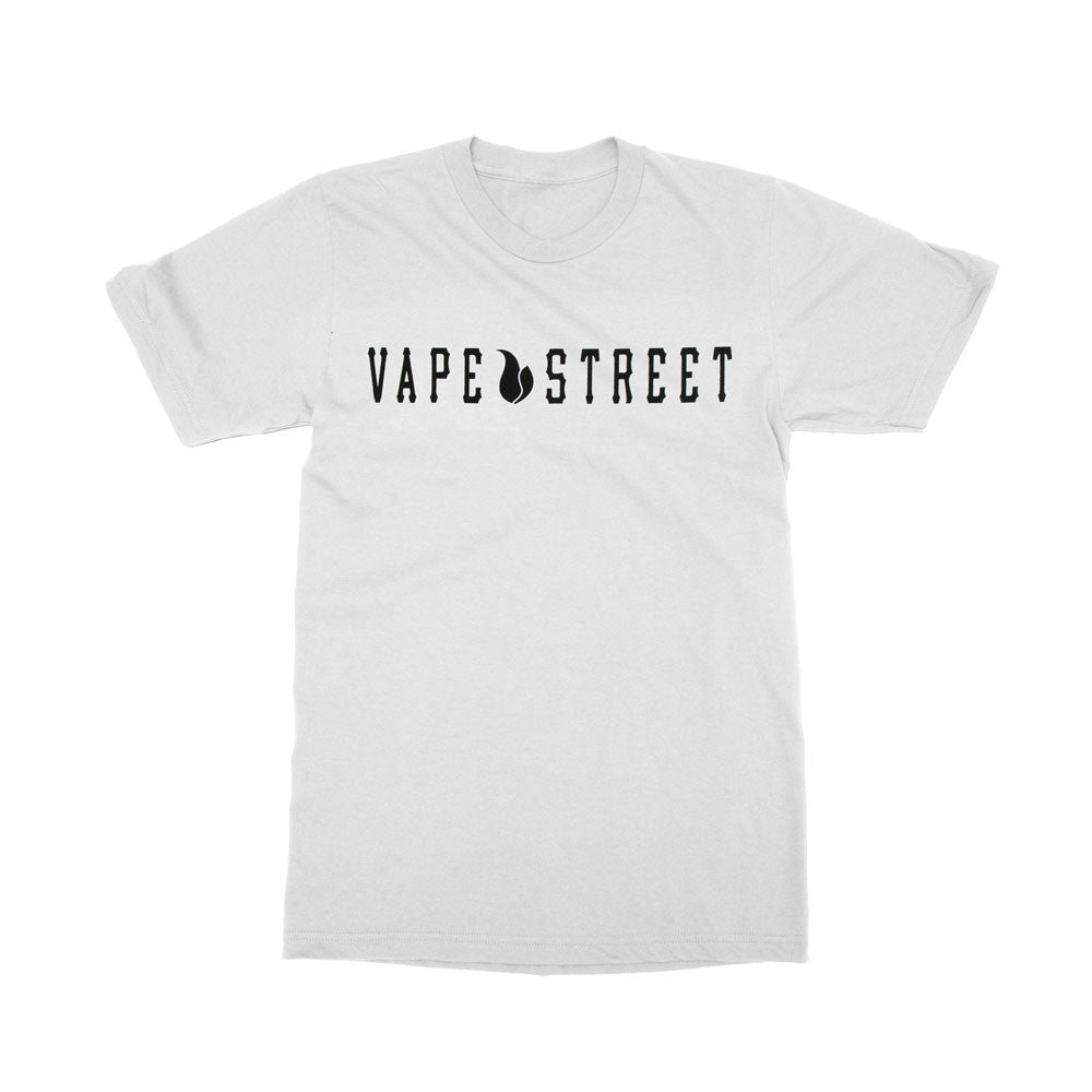 Vape Street Original Product White T-Shirt