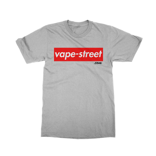 Vape Street Box Grey T-Shirt