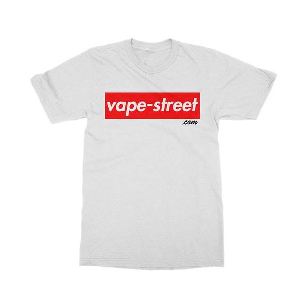 Vape Street Box White T-Shirt