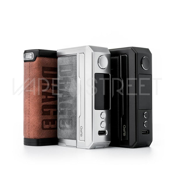 Voopoo Drag 3 Box Mod Color Options