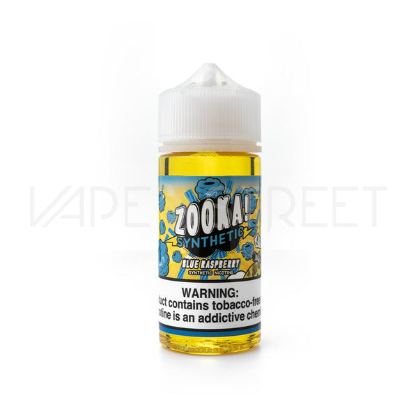 Zooka Synthetic Blue Raspberry