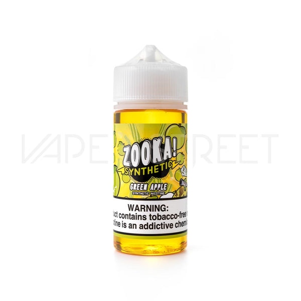 Zooka Synthetic Green Apple