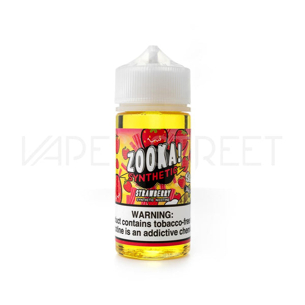 Zooka Synthetic Strawberry