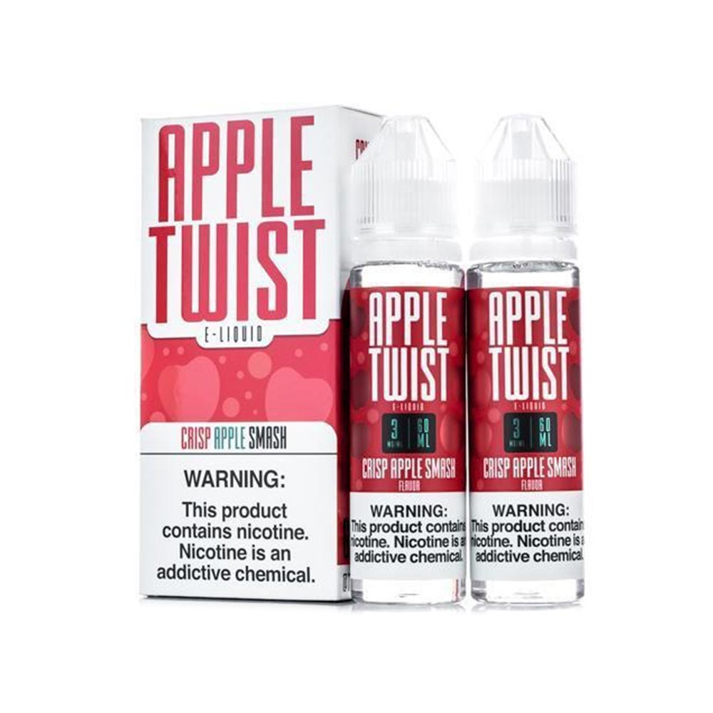 Apple Twist Crisp Apple Smash Vape Juice