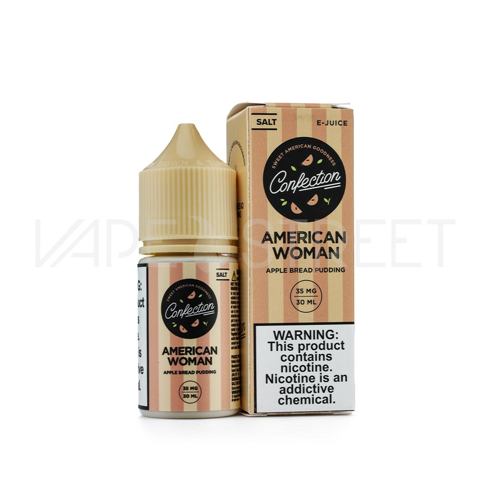 Confection Vape American Women Salt E-Juice