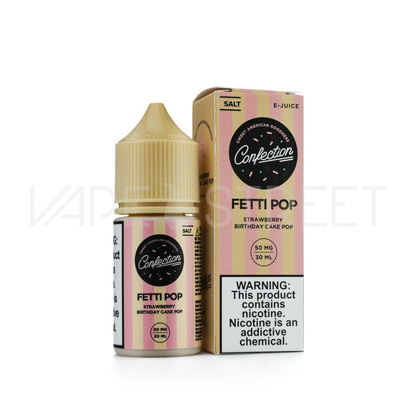 Confection Vape Fetti Pop Salt E-Juice