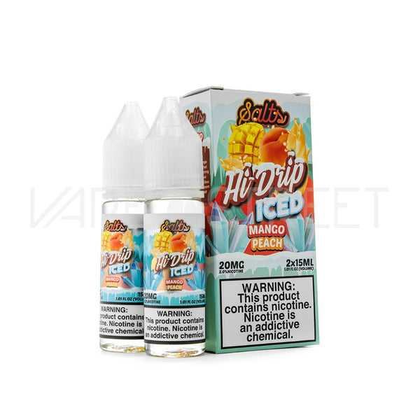 Hi-Drip Salts Mango Peach Iced
