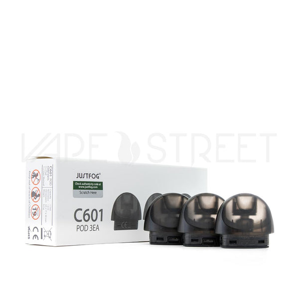 Justfog C601 Replacement Pod Cartridges 3 Pack