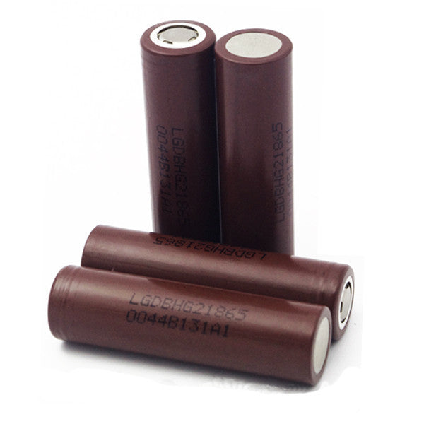 Brown LG HG2 3000mAh 18650 Battery - Vape Street