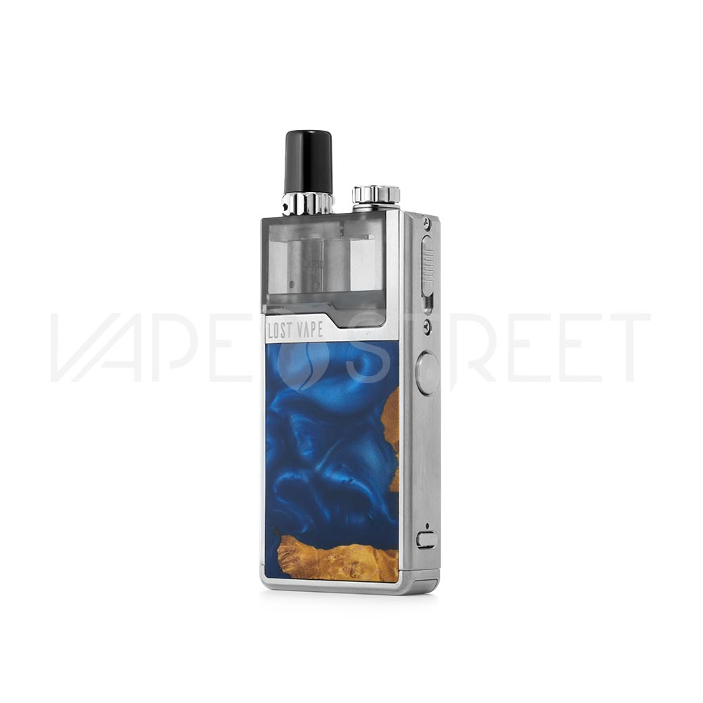 Lost Vape Orion Plus Silver Stabwood