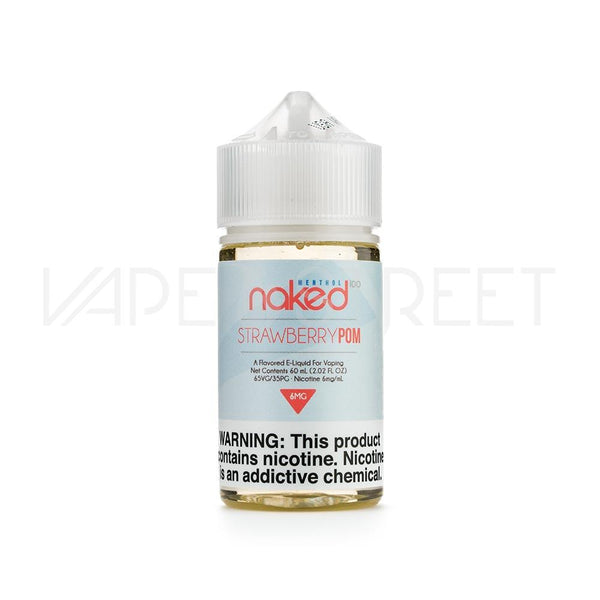 Naked 100 Menthol Strawberry Pom