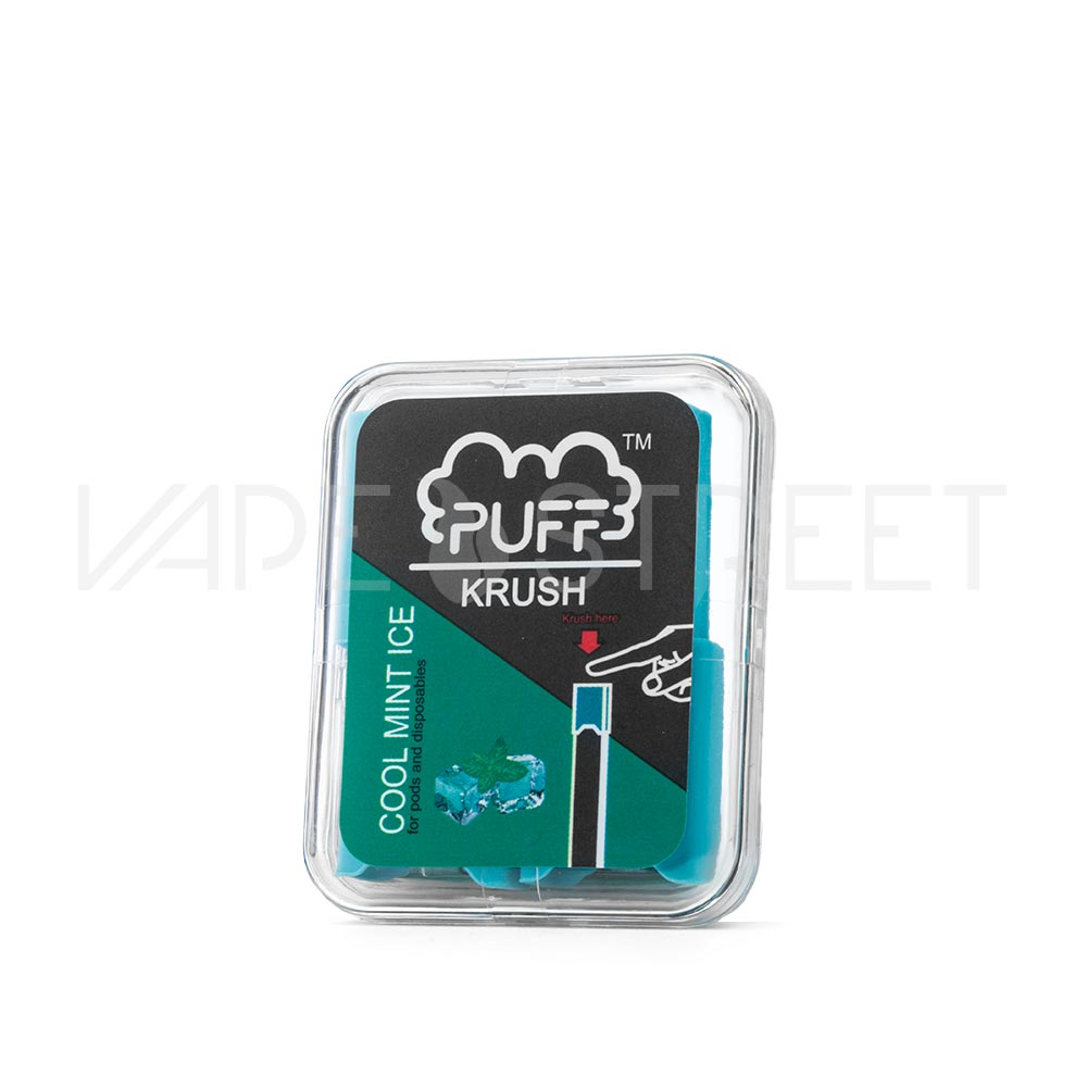 Puff Bar Krush Cool Mint Ice Pod Attachments