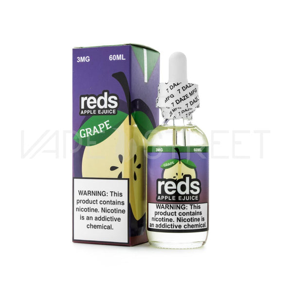Reds Apple Ejuice Grape by Vape 7 Daze 60ml