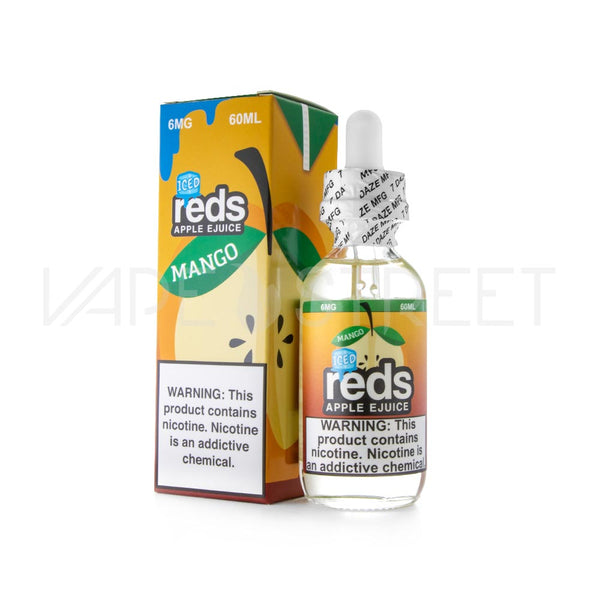 Reds Apple EJuice Mango Iced 60ml