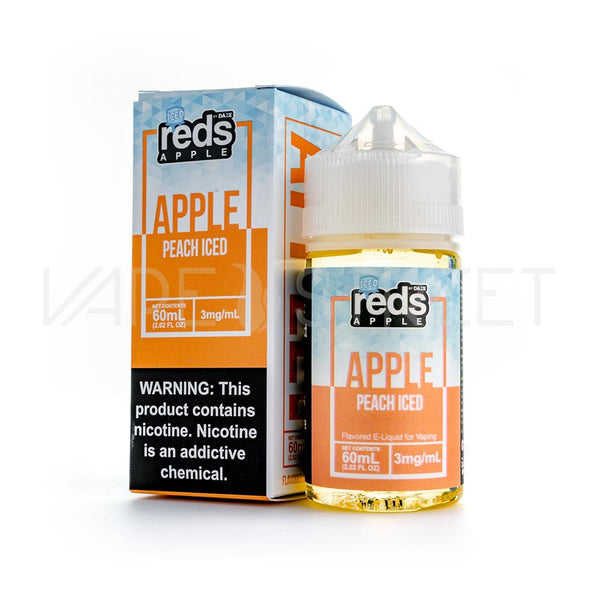 Reds Apple E-Juice Peach Iced