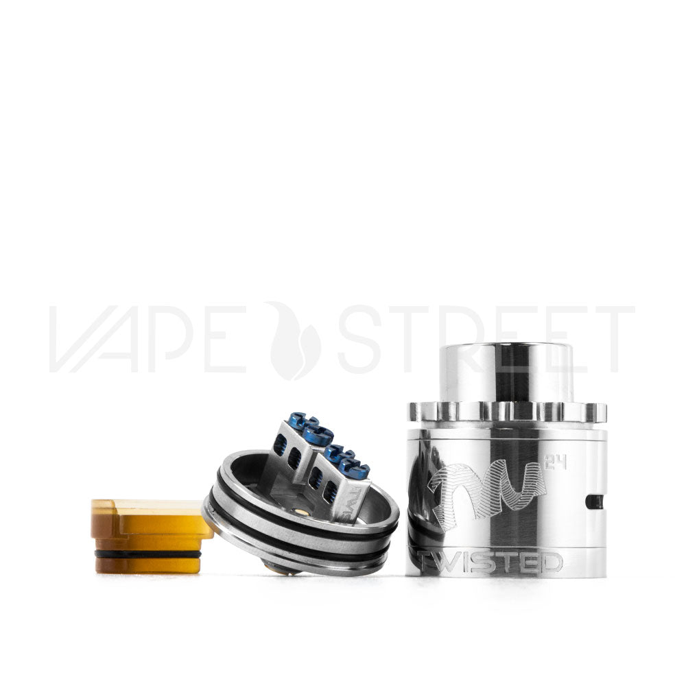 Twisted Messes TM24 Pro-Series RDA Features - Vape Street