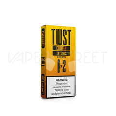 TWST Disposable Vape Pen by Twist E-Liquids Caramel