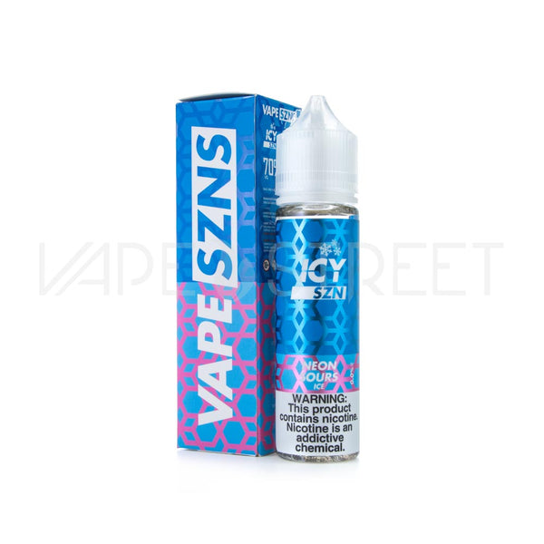 Icy SZN Neon Sours Ice by Vape SZNS
