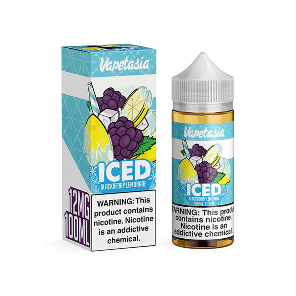 Vapetasia Iced Blackberry Lemonade