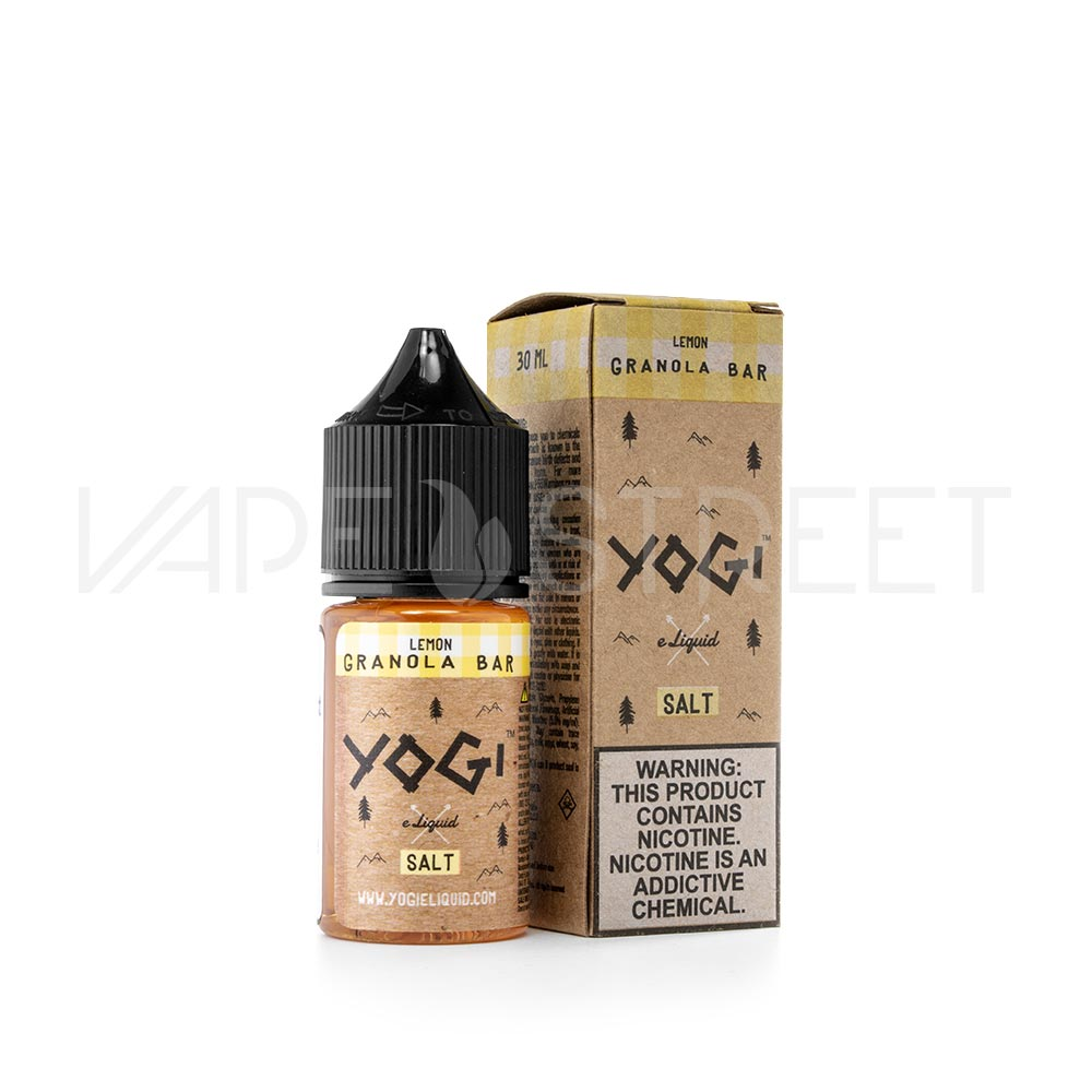 Yogi Salt Lemon Granola Bar 30ml