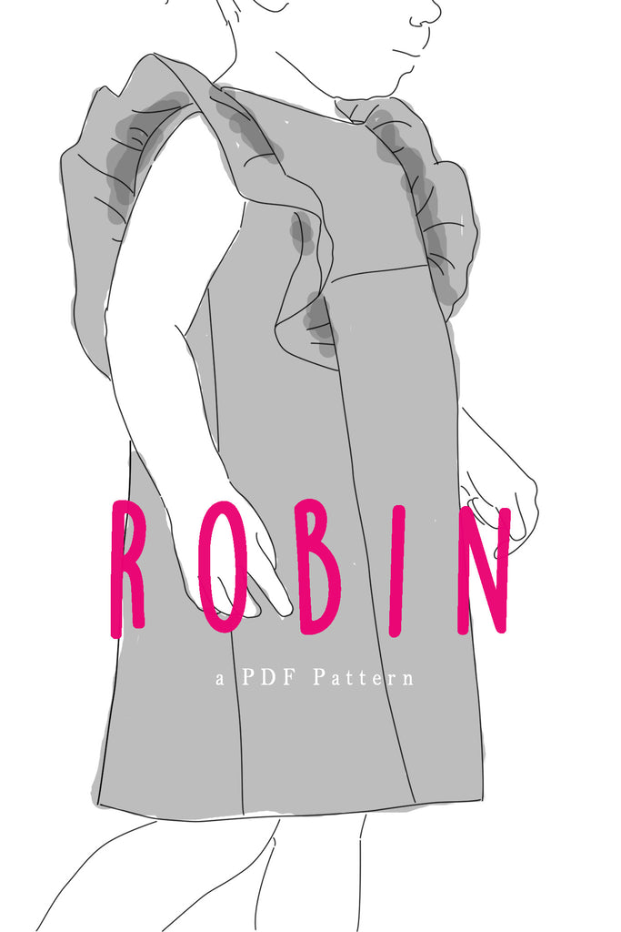 Robin Ruffle Dress